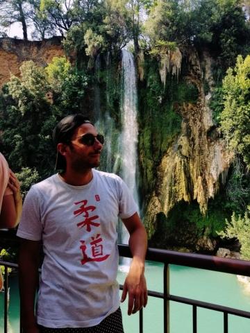 t-shirt de judo calligraphie